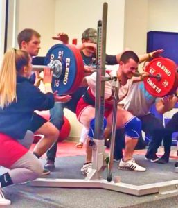 Mike D'Amico Squat USAPL Powerlifting